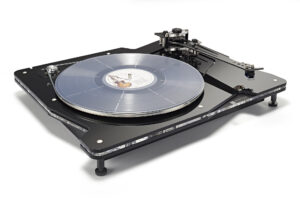 Vertere DG-1 Dynamic Groove Record Player_1_Record_White