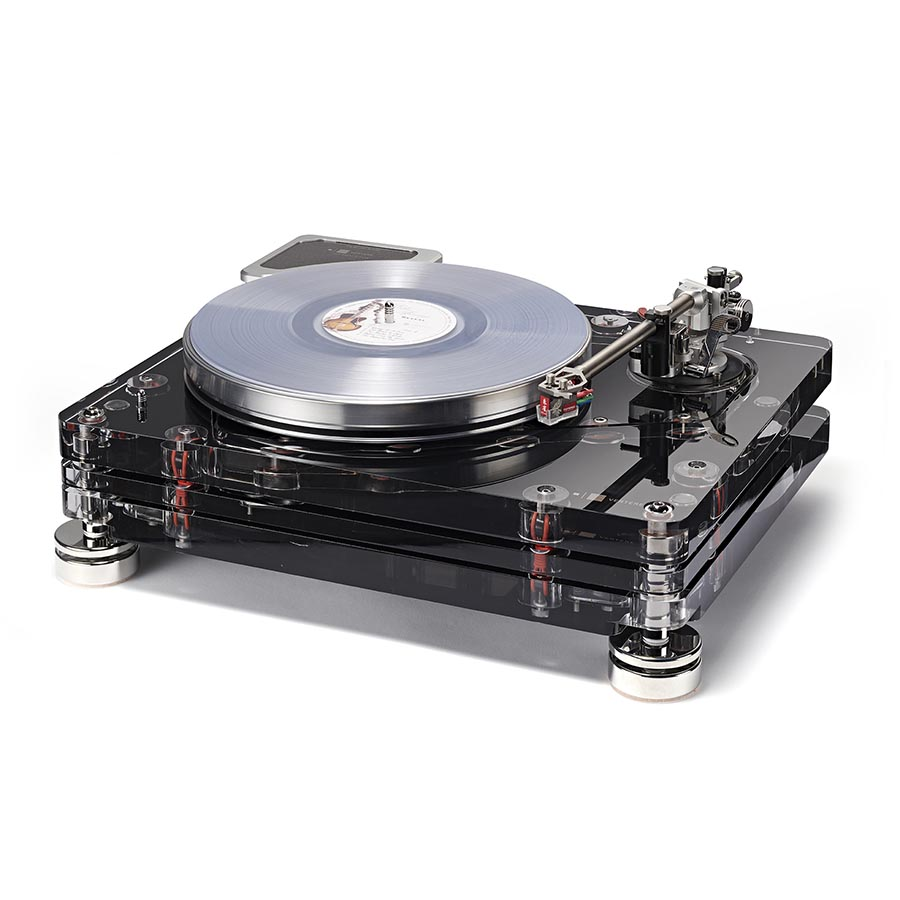 Vertere RG-1 Reference Groove Record Player Black_2_Record_White